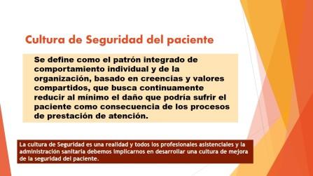 Cultura de Seguridad del paciente
